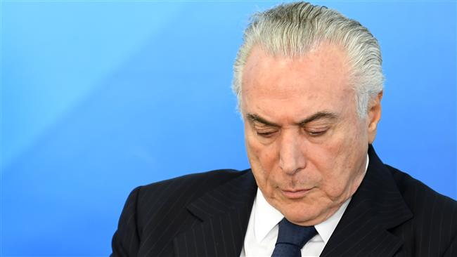Brazilian President Michel Temer charged with taking bribes