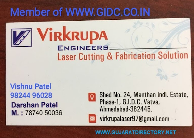 VIRKRUPA ENGINEERS - 9824496028 7874050036