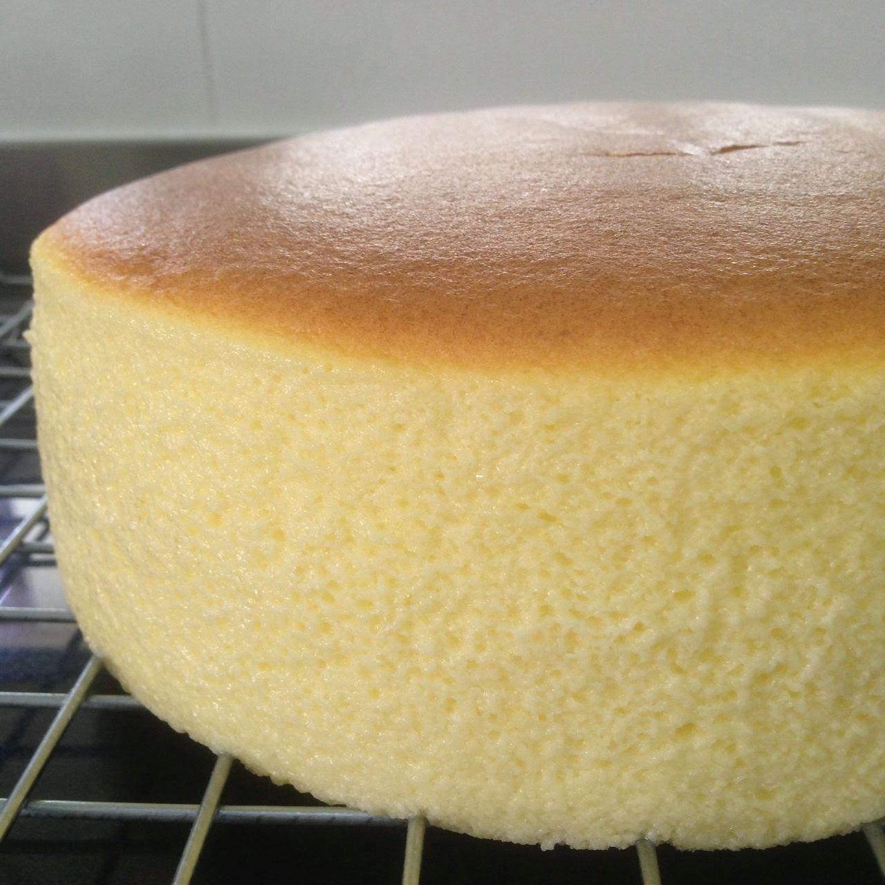 Japanese Cotton Chiffon Cake Recipe
