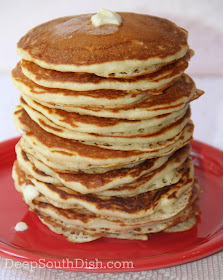 My personal recipe for more than 30 years, these make simply perfect homemade buttermilk pancakes that I know you'll love.