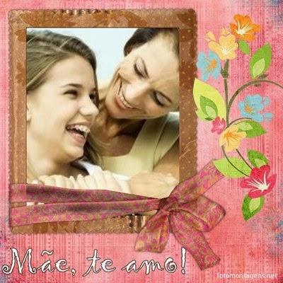 montagem de fotos para o dia das mães