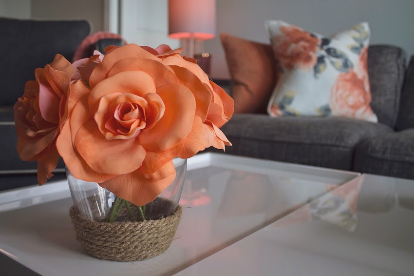 Artificial Flowers Beautiful Flowers Bunch of Flowers Coffee Table