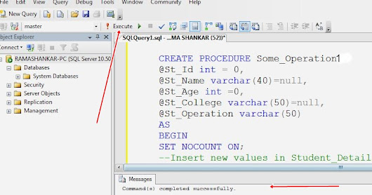 How to Perform Some DML Commands with Single Stored Procedure in SQL Server