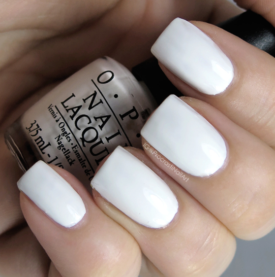 OPI Alpine Snow from the 1989 Launch Collection