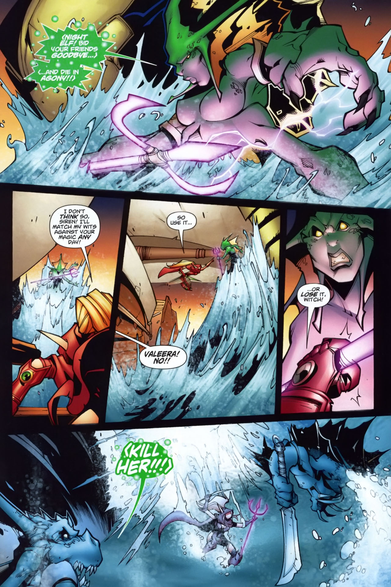 Read online World of Warcraft comic -  Issue #7 - 11