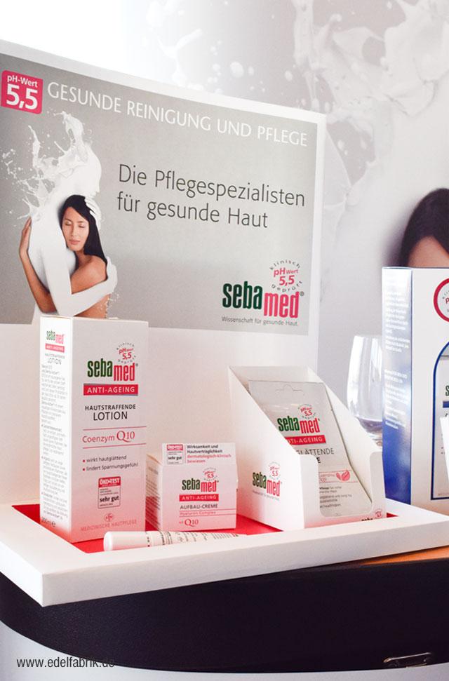 neue Produkte von sebamed auf dem Beautypress Bloggerevent in Köln