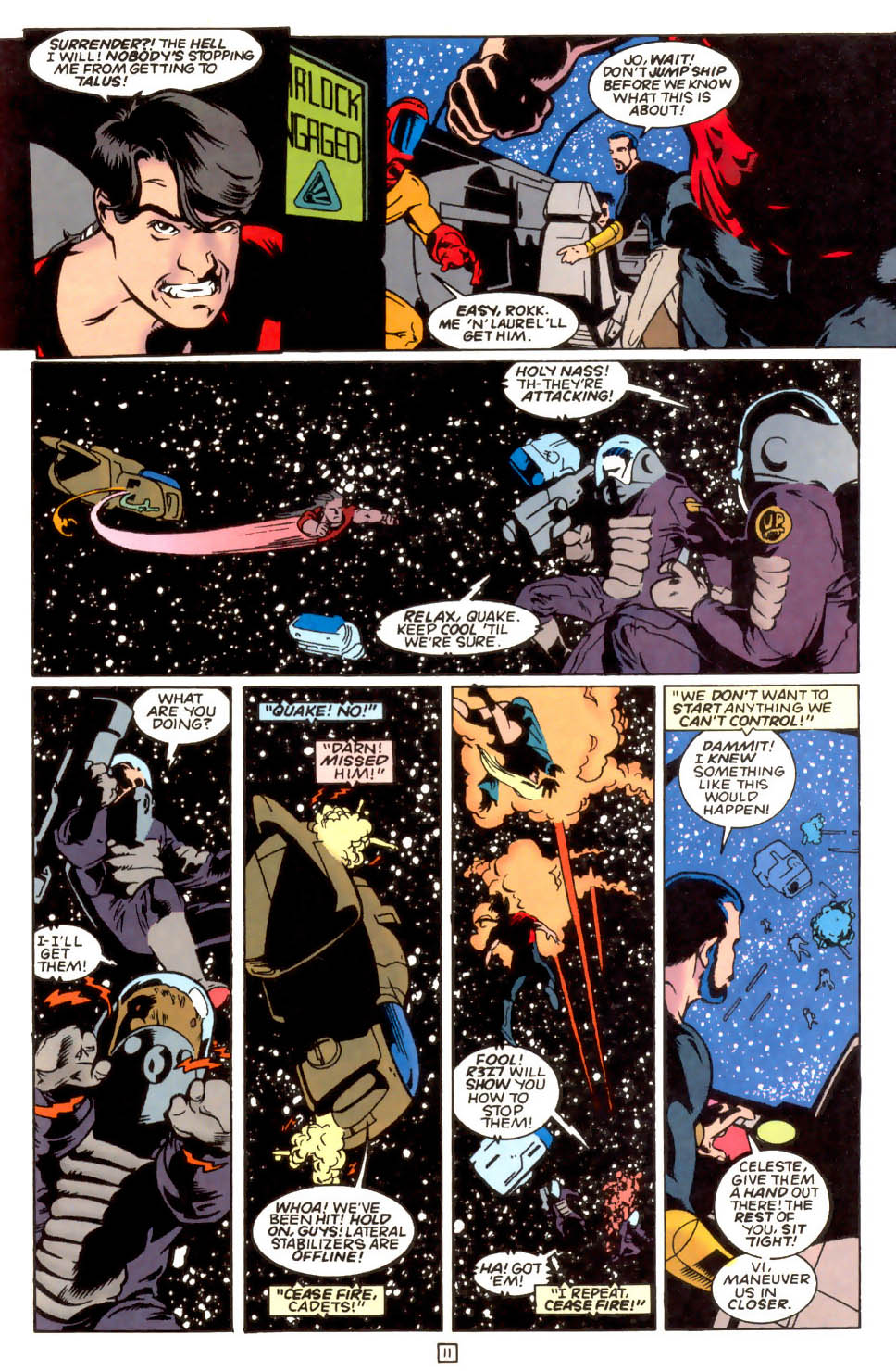Legion of Super-Heroes (1989) 54 Page 9