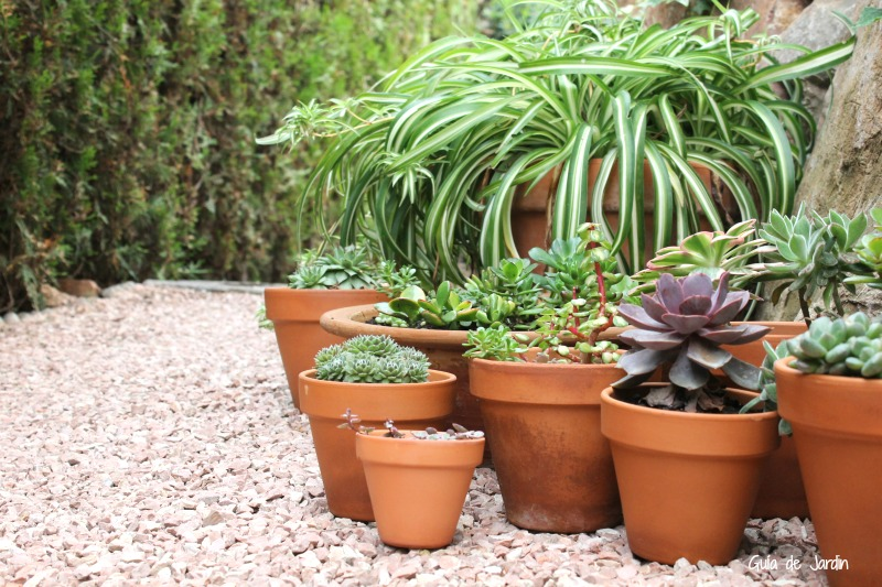 Macetas sencillas funcionales y bonitas a rabiar guia de jardin - Macetas de jardin ...