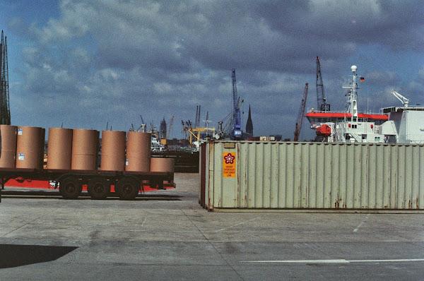 Hambourg, Saint-Pauli, Sankt Pauli, hafen, © L. Gigout, 1990