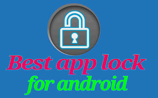 Best app lock for android mobile