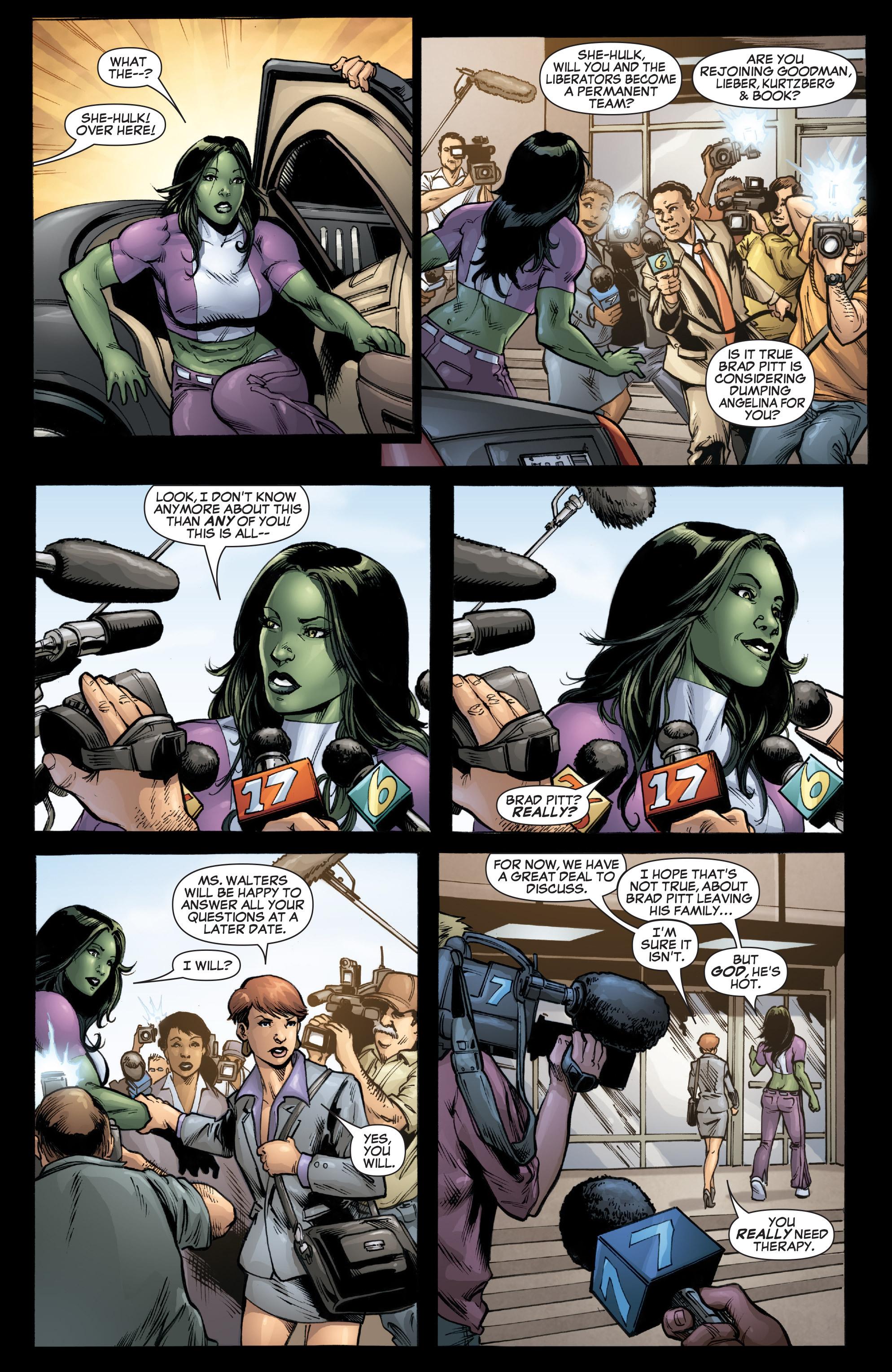 Read online She-Hulk (2005) comic -  Issue #37 - 17