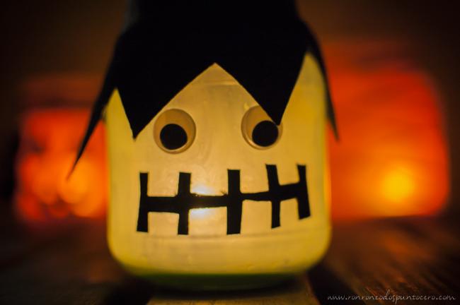 Tarro Halloween Frankenstein