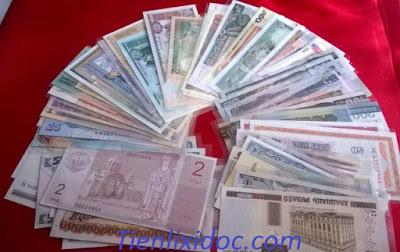 Bộ Tiền 100 Tờ Của 50 Nước