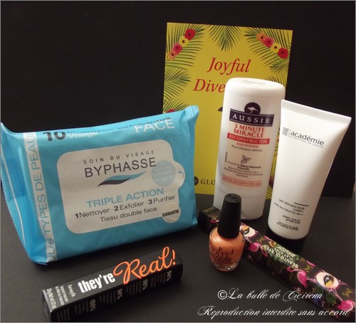 Glossybox, Joyful Diversion, blog beauté