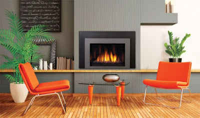 The Orange Color In The Interior Decoration Is Daring And Distinctive