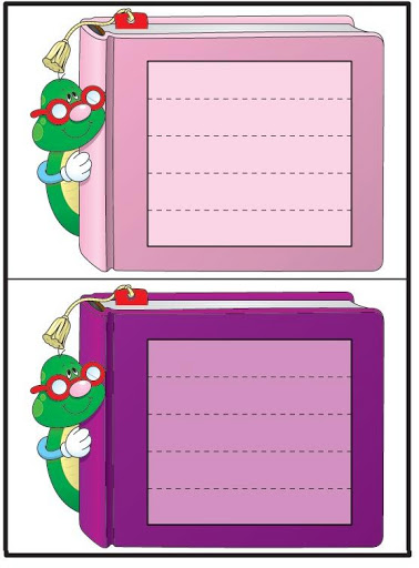 Etiquetas De Caderno Para Imprimir Lindas Etiquetas Coloridas