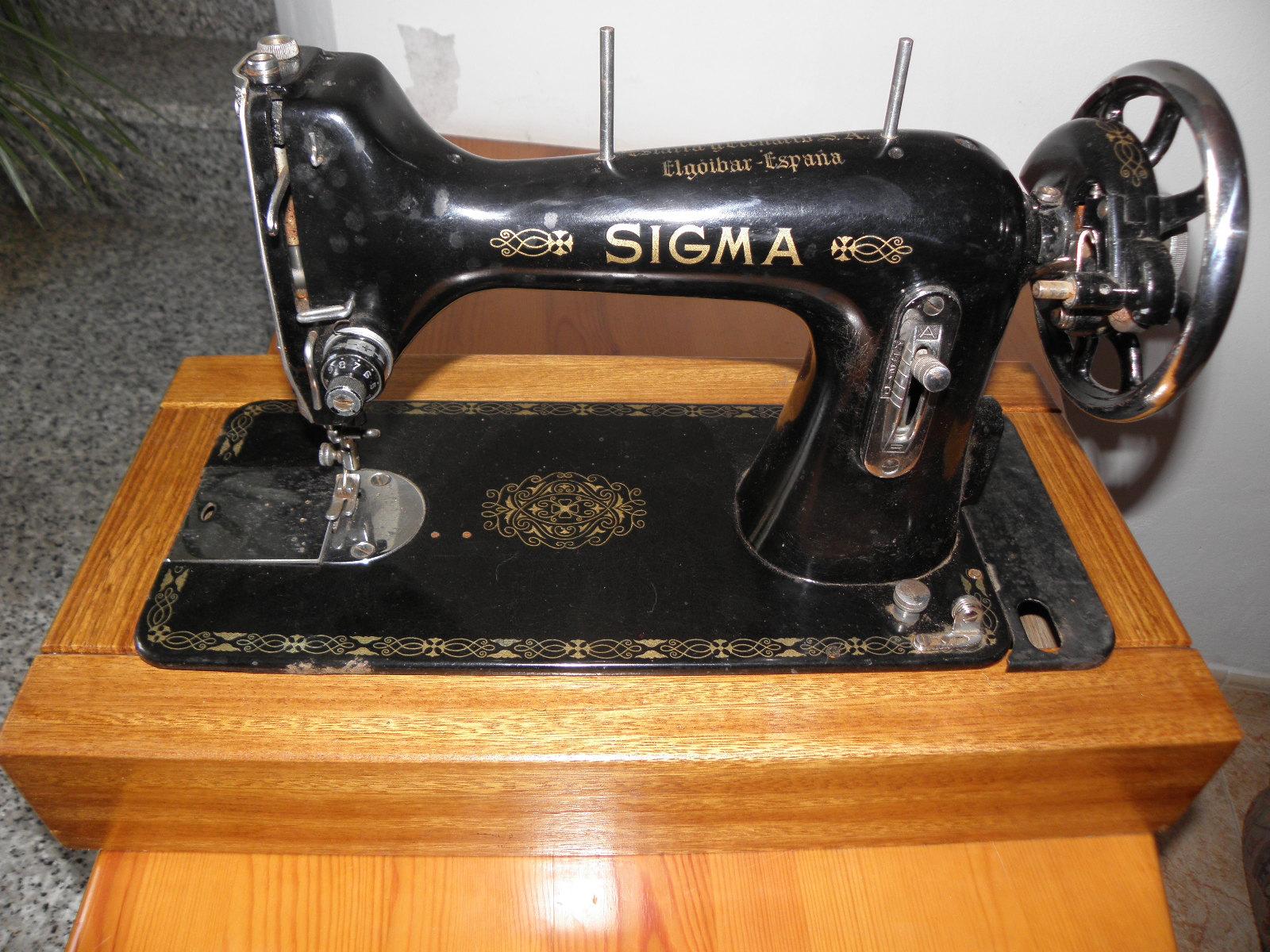 Antigallas: Máquinas de coser antiguas Singer y Sigma