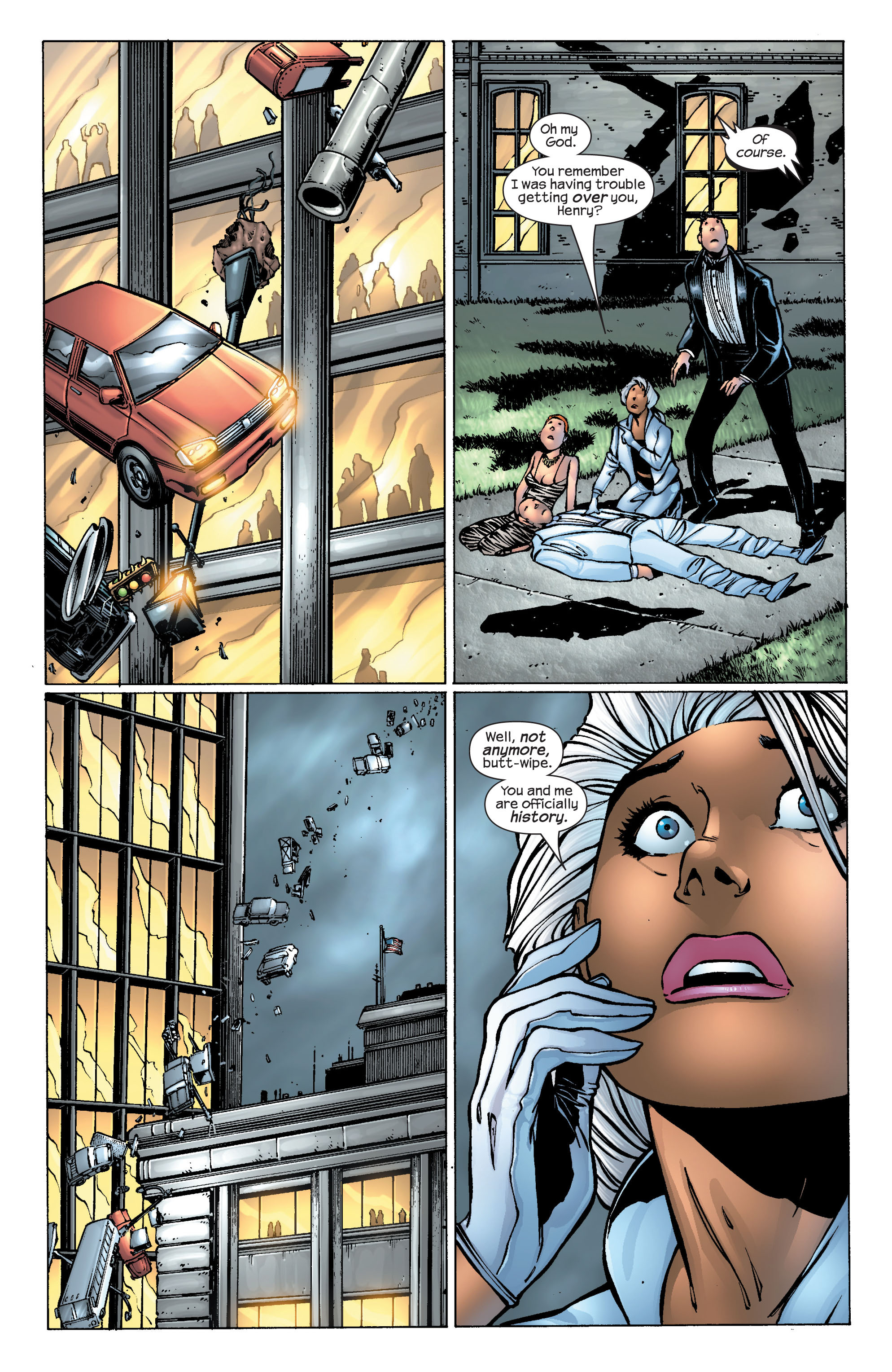 Read online Ultimate X-Men comic -  Issue #25 - 26