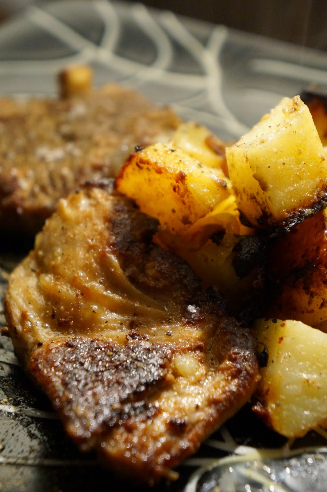 Tajine Mustard Lamb and Potatoes