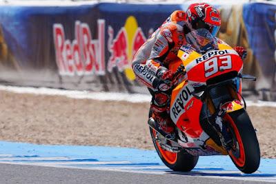Hasil FP1 MotoGP Malaysia Marquez tercepat