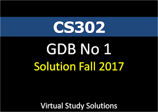 CS302 GDB No 1 Solution and Discussion Fall 2017