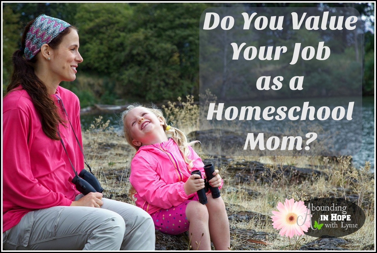 Do You Value Your Job as a Homeschool Mom? • Abounding in Hope with Lyme