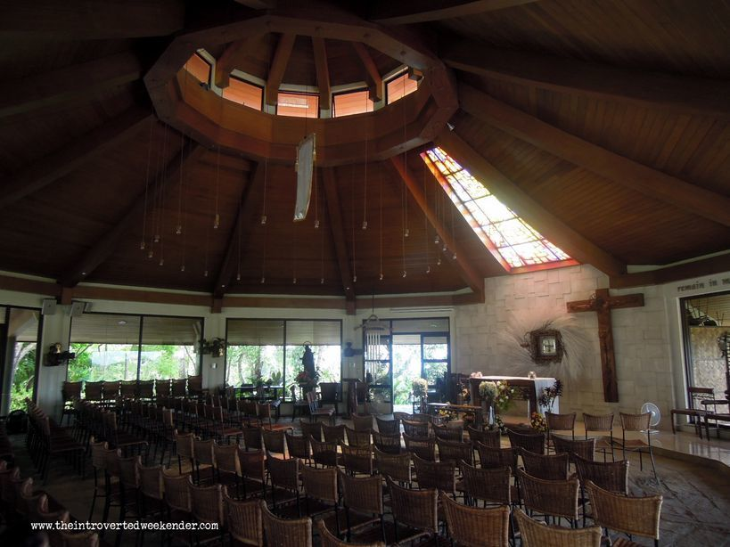 Inside Chapel on the Hill in Tagaytay