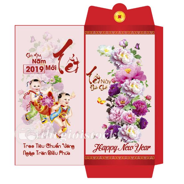 Bao Lì xì mừng tết 2019