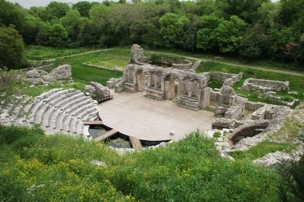 The Archaelogical park of Butrint