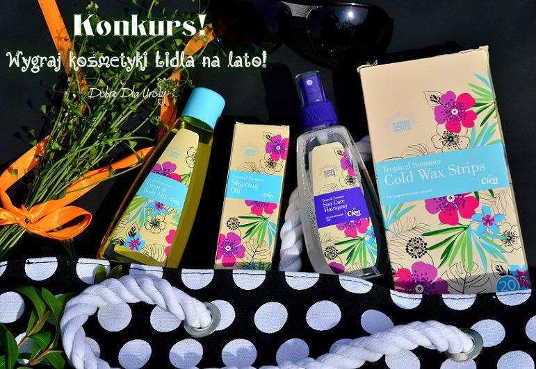 Kosmetyczne nowości Lidla - Cien Sun oraz Summer Limited Edition by Cien + KONKURS!