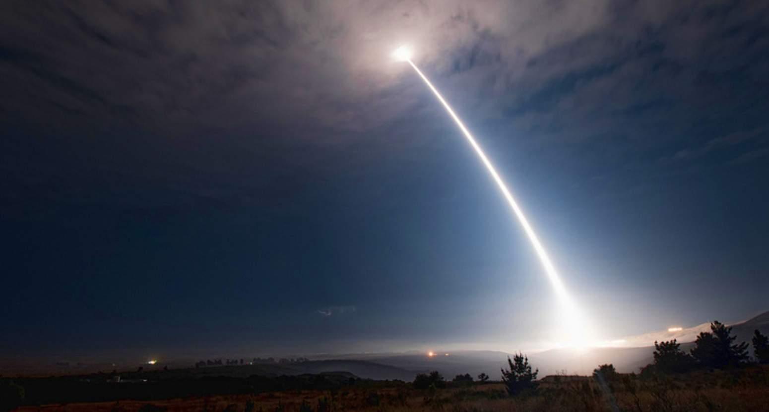 AS menguji rudal balistik antarbenua Minuteman III