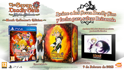 The Seven Deadly Sins Wrath Collector's Edition
