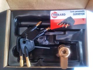 κύλινδρος ασφαλείας thirard surveyor