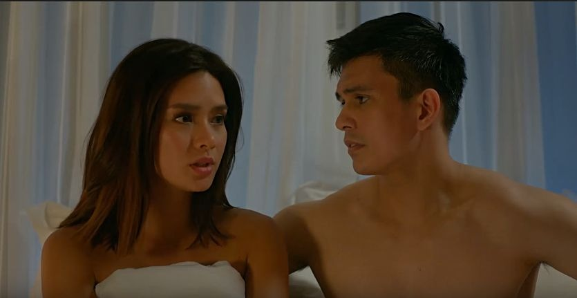 Erich Gonzales as Nicole and Tom Rodriguez as Edward in 'The Significant Other