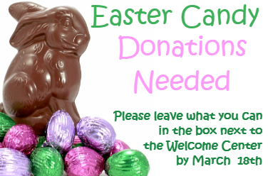 Easter Candy Donations Needed