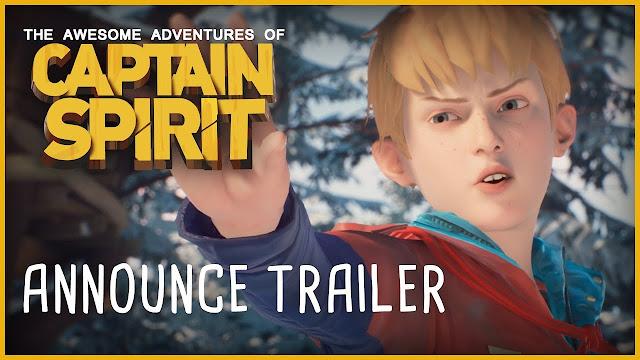 الإعلان رسميا عن لعبة Captain Spirit القادمة من عالم Life is Strange و هناك مفاجأة للجميع …