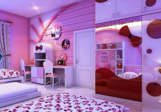 Bedroom design to spoil the little princess