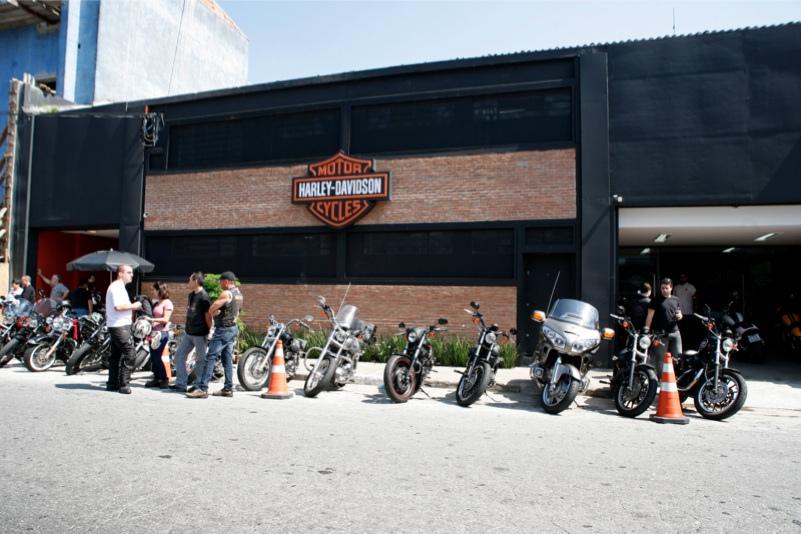 1d3343ce7c4 ... ABA Harley-Davidson e Tennessee Harley-Davidson e saíram,  respectivamente, de Santo Amaro, Barra Funda e Campinas às 10h rumo ao  Salão Duas Rodas.