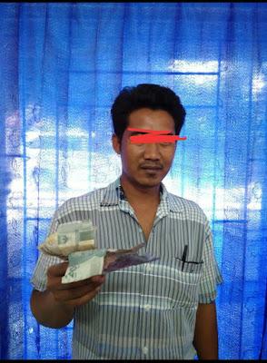 Preman Simpang Marbo ini di amankan Polsek Na IX X