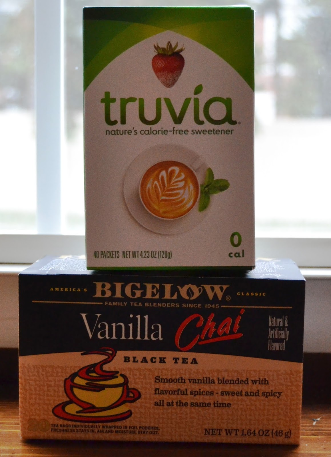 Bigelow Tea and Truvia