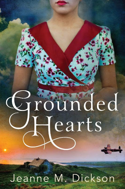 Blog Tour Review & Giveaway: Grounded Hearts by Jeanne M. Dickson