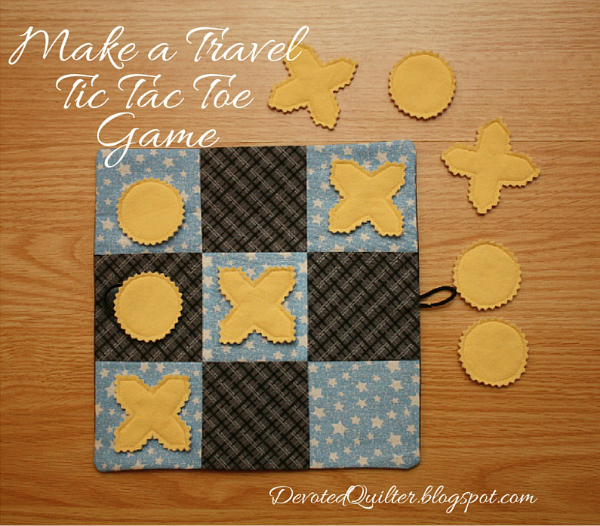 Travel Tic-tac-toe game | DevotedQuilter.blogspot.com