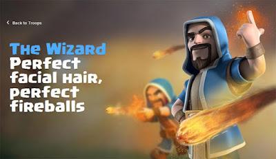 Rincian Informasi Strategi dan Biaya Upgrade Wizard di COC