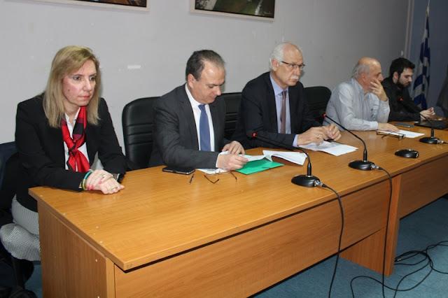 Ημερίδα της ΕΔΕΥΑ και της ΔΕΥΑ Λάρισας με τη συμμετοχή κυβερνητικών στελεχών