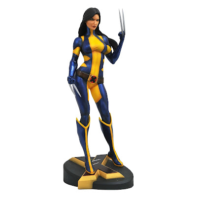 San Diego Comic-Con 2018 Exclusive Marvel Gallery Unmasked X-23, White Phoenix & Grey Hulk PVC Statues by Diamond Select Toys x Previews