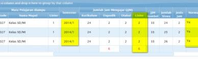 Cek Info GTK / Tunjangan / Lembar Informasi Guru Tahun 2016
