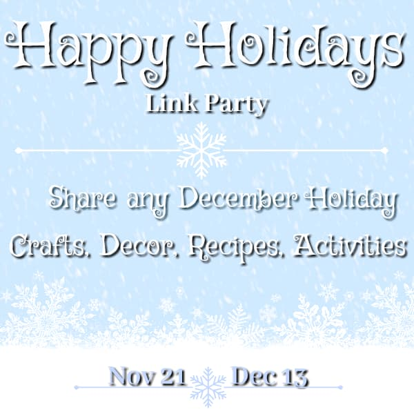 Happy Holidays Link Party!!
