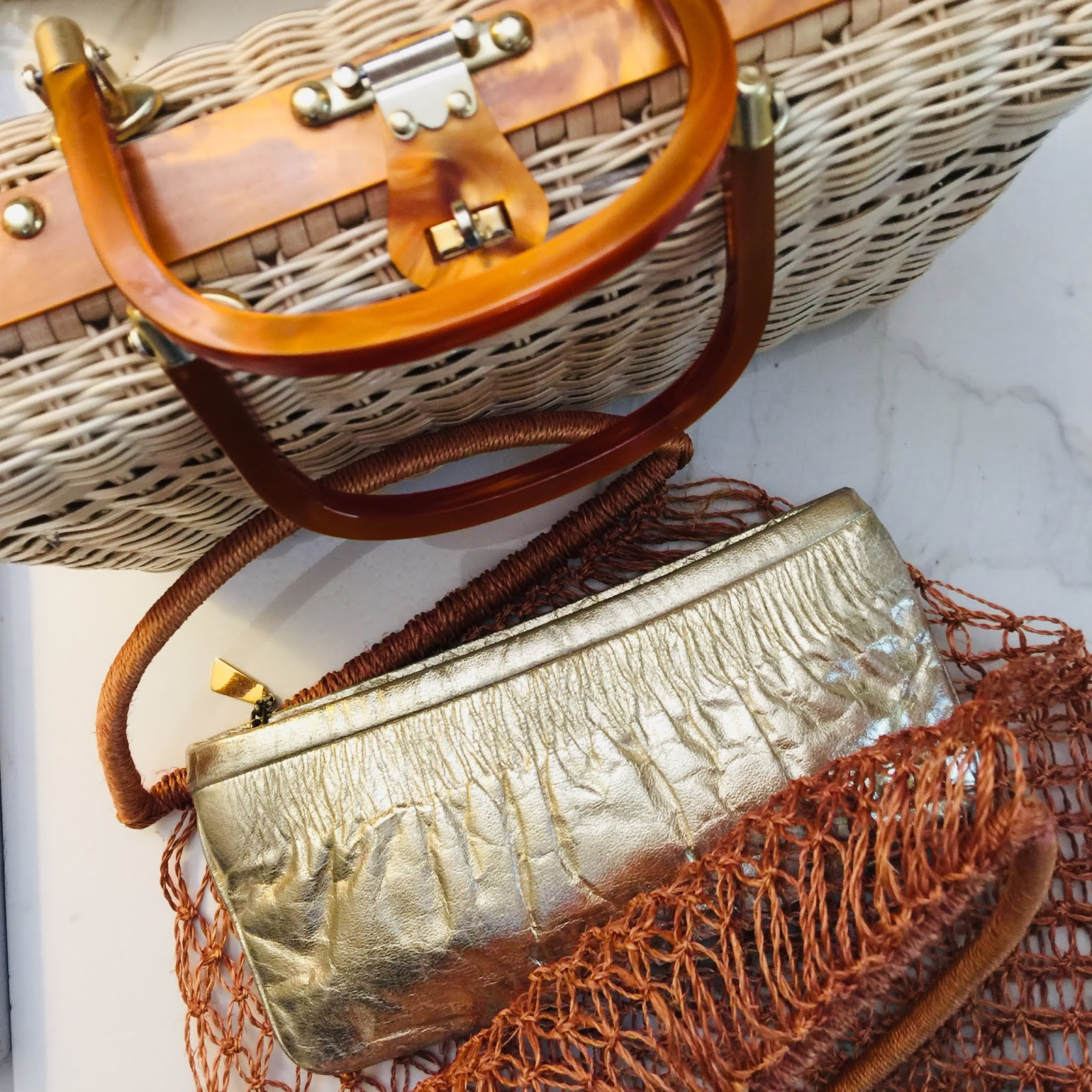 Spring woven Handbags for Spring 2019
