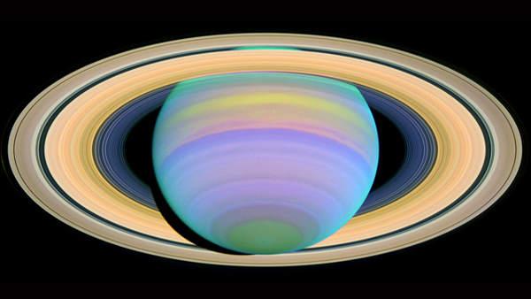 Anillos de Saturno.