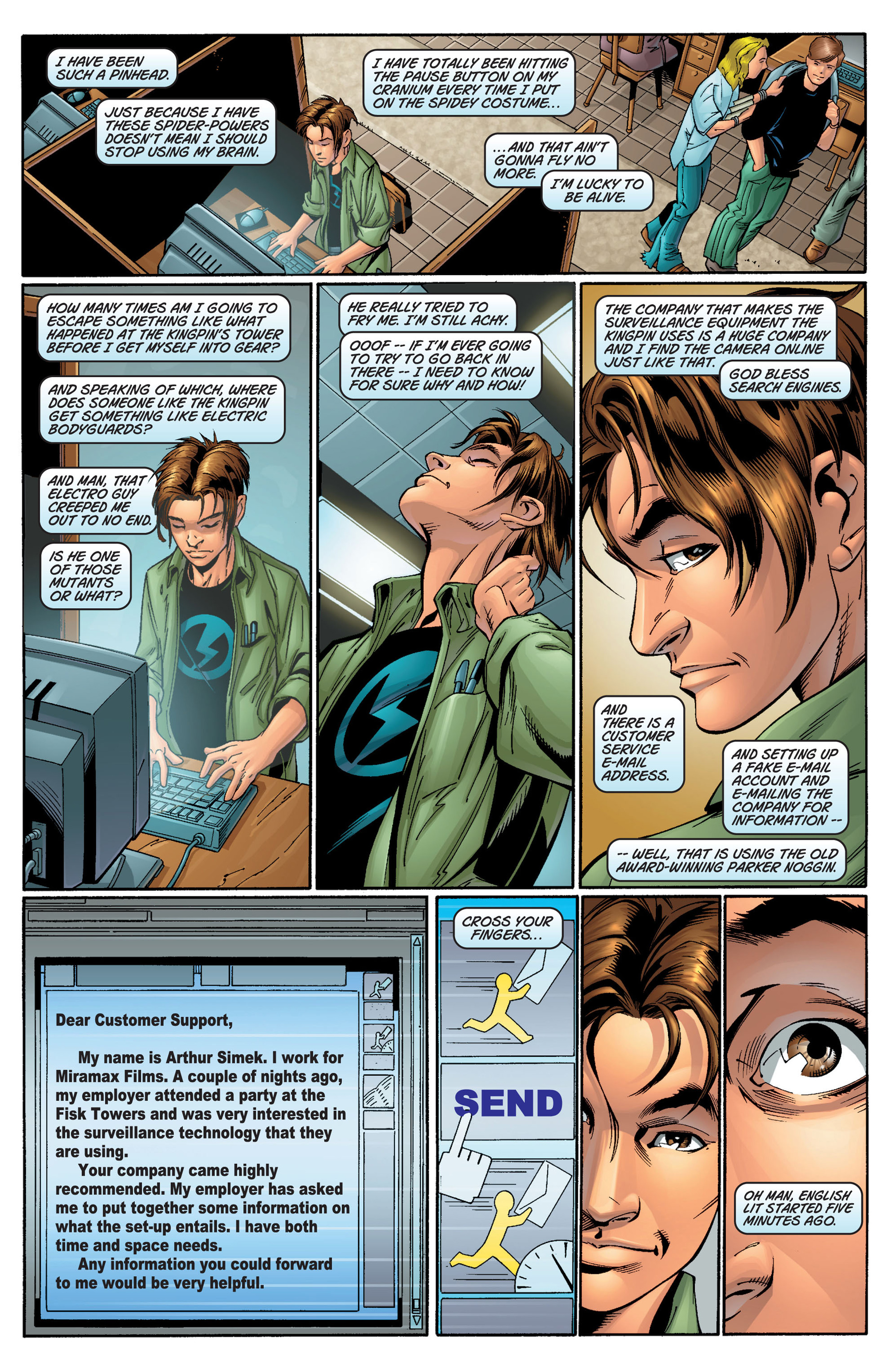 Read online Ultimate Spider-Man (2000) comic -  Issue #11 - 2